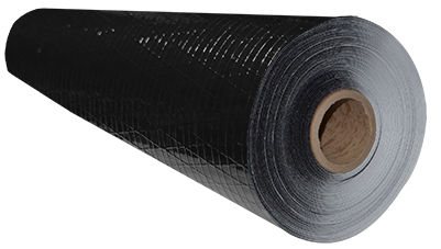 A roll of the DiamondBack™ Crawl Space Vapor Barrier